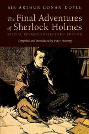 Cover of: The Final Adventures of Sherlock Holmes