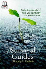 Cover of: Survival Guides | Timothy L. Hudson