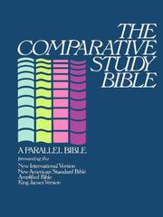 Cover of: The comparative study Bible |