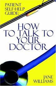Cover of: Patient Self-help Guide