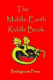 Cover of: The Middle Earth Riddle Book