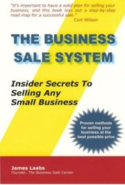 Cover of: The Business Sale System