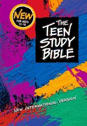 Cover of: The Teen Study Bible: New International Version