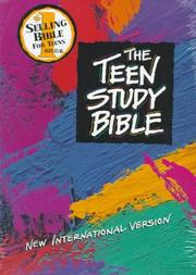 Cover of: The Teen Study Bible NIV
