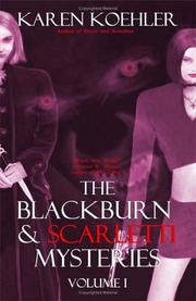 Cover of: The Blackburn & Scarletti Mysteries