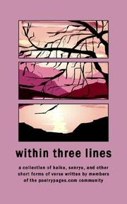 Cover of: Within Three Lines