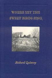 Cover of: Where yet the sweet birds sing