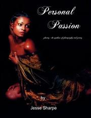 Cover of: Personal Passion | Jesse, Sharpe