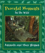 Cover of: Peaceful Moments in the Wild | Stephanie Maze