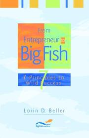 Cover of: From Entrepreneur to Big Fish | Lorin D Beller