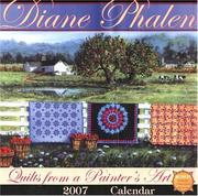 Cover of: Quilts from a Painter's Art 2007 Calendar