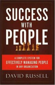 Cover of: Success with People