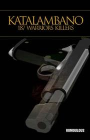 Cover of: Katalambano 187 WARRIORS KILLERS | Romoulous