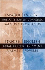 Cover of: Spanish/English Parallel New Testament Psalms/Proverbs | Zondervan Publishing Company