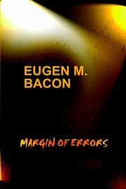 Cover of: Margin of Errors | Eugen, M. Bacon