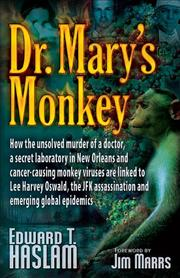Cover of: Dr. Mary's Monkey