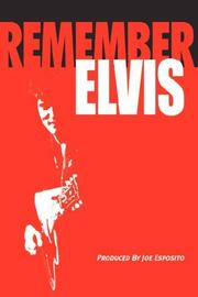 Cover of: Remember Elvis