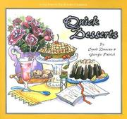 Cover of: Quick Desserts (One Foot in the Kitchen) (One Foot in the Kitchen) | Cyndi Duncan