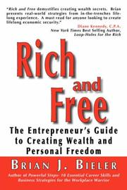 Cover of: Rich and Free - The Entrepreneur