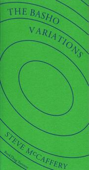 Cover of: The Basho Variations