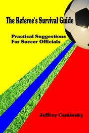Cover of: The Referee