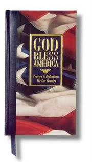Cover of: God Bless America