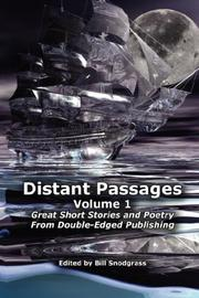 Cover of: Distant Passages - Volume 1 | Bill, Snodgrass