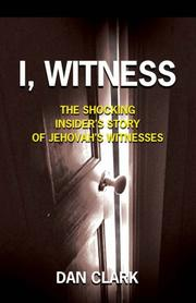 Cover of: I, Witness