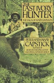 Cover of: The last ivory hunter