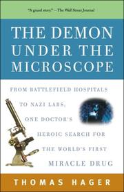 Cover of: The Demon Under the Microscope | Thomas Hager