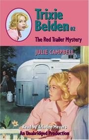 Cover of: The Red Trailer Mystery (Trixie Belden (Audio))