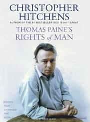 Cover of: Thomas Paine's Rights of Man (Books That Changed the World)
