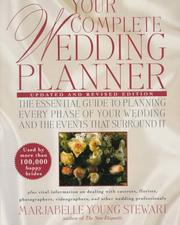 Cover of: Your complete wedding planner