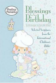 Cover of: Blessings for Your Birthday (Precious Moments)