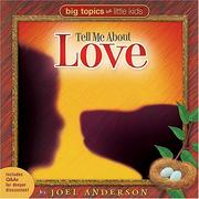 Cover of: Tell me about love