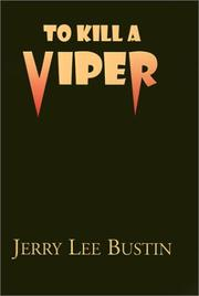 Cover of: To Kill a Viper