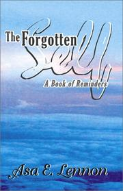 Cover of: The Forgotten Self