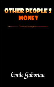 Cover of: Other People's Money (Essential Library)