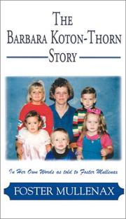 Cover of: The Barbara Koton-Thorn Story