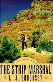Cover of: The Strip Marshal