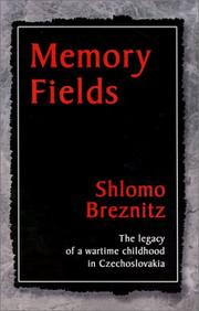 Cover of: Memory Fields | Shlomo Breznitz