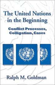 Cover of: The United Nations in the Beginning