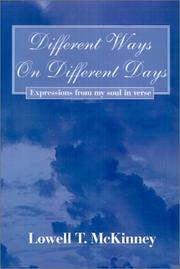 Cover of: Different Ways on Different Days