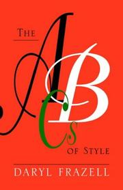 Cover of: The ABCs of Style