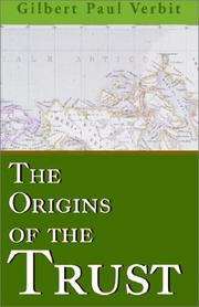 Cover of: The Origins of the Trust