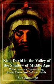 Cover of: King David in the Valley of the Shadow of Middle Age