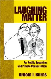 Cover of: Laughing Matter