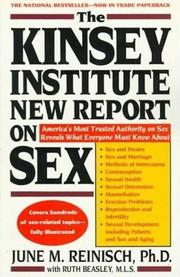 Cover of: The Kinsey Institute new report on sex | June Machover Reinisch