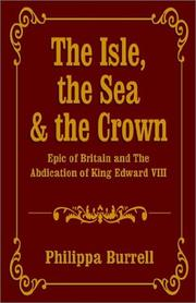 Cover of: The Isle, the Sea & the Crown | Philippa Burrell