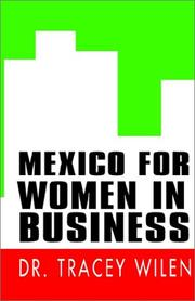 Cover of: Mexico for women in business